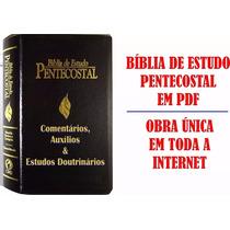 Bíblia Sagrada De Estudo Pentecostal + Bíblia De Estudo Dake