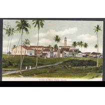 Postal Circulado 1909 Quintas Da Barra, Bahia, Farol.