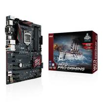 Motherboard Asus H170 Pro Gaming (1151) Gamer Garantía 36m