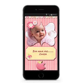 Álbum Do Bebê Em Aplicativo