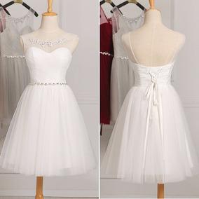 Vestido De Festa Curto/15 Anos/casamento/debutante