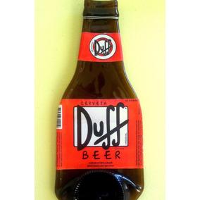 Garrafa De Cerveja Derretida Amassada Decoração Bar Presente