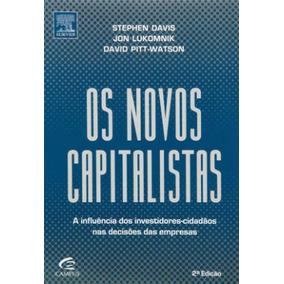 Livro Os Novos Capitalistas Administração Empresas + Brinde*