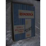 Libro Estadistica , Serie Schaum , Murray , 353 Paginas , Añ