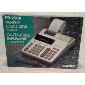 Calculadora Casio Fr-2500