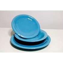 Set Platos X12piezas Ceramica Ancers Playo+postre+hondo *td*