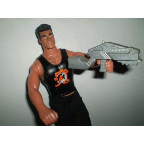 Muñeco Action Man Original Y Max Steel