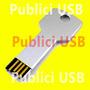 Usb Publicitario Llave 8gb Merchandising Impresion A Color