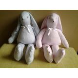 Muñecos - Conejos De Patas Largas De Tela Artesanales
