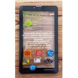 Touch Screen Com Aro Moldura Tablet Tb3100 Lenoxx Original