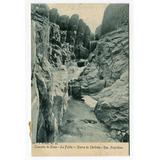 Postal Peuser Cascada Olain La Falda Sierras De Cordoba 1918