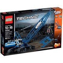 Lego 42042 Grua Con Orugas, Technic 2 En 1