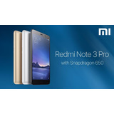 Xiaomi Note 3 Pro 3gb De Ram 4g Android 6 + Funda + Glass