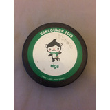 Vancouver 2010 Olimpics Official Game Puck((tejo Oficial))
