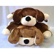Kit 2 Cachorros Travesseiro Pelucia Macio Brinquedo Presente