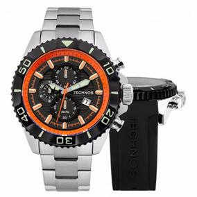 Relógio Technos Masculino Troca Pulseiras Acqua Os10en/1p