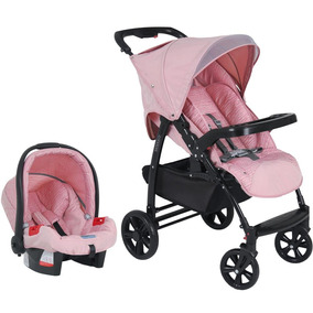 Carrinho Travel System Touring Evol Messina Burigotto