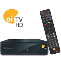 Decoder Elsys Oi Tv Livre Hd - Ses 6 + 2 Meses Pacote Mix*