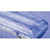 Plafon Estanco Lumenac Marea Led 2x18w Tubos Incluidos