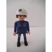 Figura Hombre Policia Playmobil