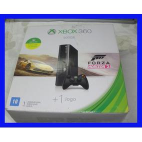 Xbox 360 500gb Console + Jogo Garantia Pouco Uso Semi Novo