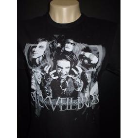 Black Veil Brides - Fallen Angel Camisa Baby Look Preta