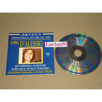 Lupita D´alessio Historia Musical Vol 3 - Año 2004 Orfeon Cd