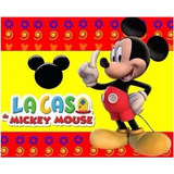 Kit Imprimible La Casa Mickey Mouse Invitaciones Recuerdos