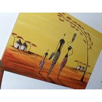 Cuadros Negras Africanas - Arte Digital Africano - 27x42