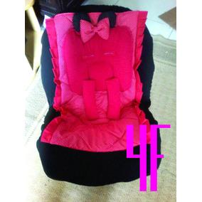 Capa Minnie Para Cadeira Auto Infantil Completa(carro)