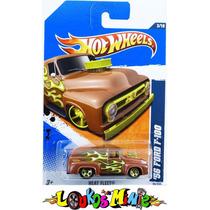 Hot Wheels ´56 Ford Panel F-100 Coleção De 2011 Lacrado 1:64