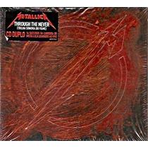 Cd Duplo Metallica - Through The Never - Novo***