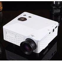 Mini Projetor Portatil Led 100 Pol H80 Novo Data Show Filme