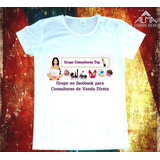 Camiseta Grupo Consultores Top Do Facebook