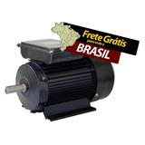 Motor Eletrico Fechado Ip44 2.0cv 4 Polos Monofasico Bivolt