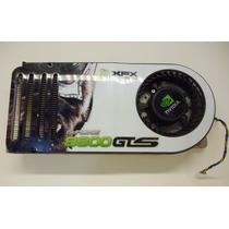 Cooler +dissipador Placa Vídeo Geforce Xfx 8800 Gts Bfb1012l