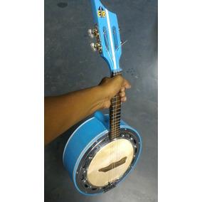 Banjo Luthier Caixa De 10 Som Alto Emerson Brasa
