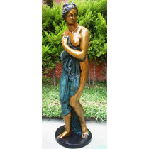 Lrc Diosa Venus, Mujer Desnuda Muy Bella! De Bronce.