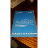 Renault 19 Chamade Manual De Reparacion Chapa Y Mecanismos