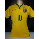 Camisa Seleção Brasileira Copa 2014 Neymar Nova C/ Etiqueta