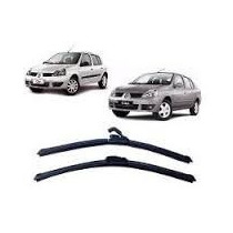 Palheta Limpador Para-brisa Dianteiro Renault Clio Ii Sedan
