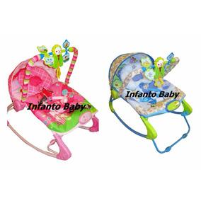 Cadeira Descanso Bebê Musical Vibratória Balanço Rocker