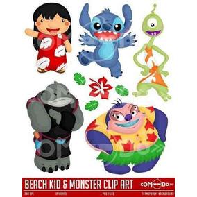 Kit Imprimible Lilo & Stitch Imagenes Clipart