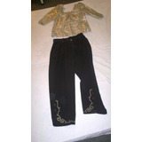 Pantalon Y Blusa Dama Bonito..talle M 42 Nuevo.combo