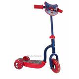 Monopatin Scooter 3 Ruedas Nene Hombre Araña Cars Hot Wheels