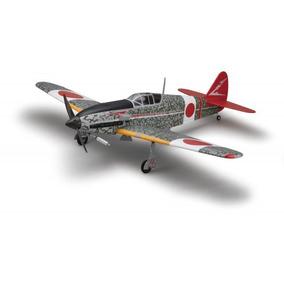 Planta Impressa Avião Kawasaki Ki-61 Hien 1720 Mm Enverg.
