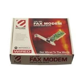 Placa Pci Fax Modem V.92 56k Encore Enf656-esw-mopr