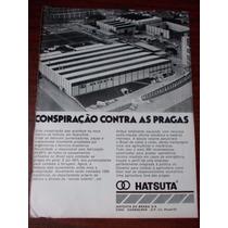Propaganda Antiga - Hatsuta. Conspiração Contra As Pragas