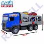 Caminhão Super Cegonha Azul 5059 - Magic Toys