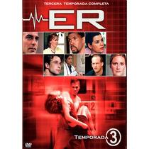 Er, Sala De Urgencias Temporada 3, Tres. Serie De Tv En Dvd